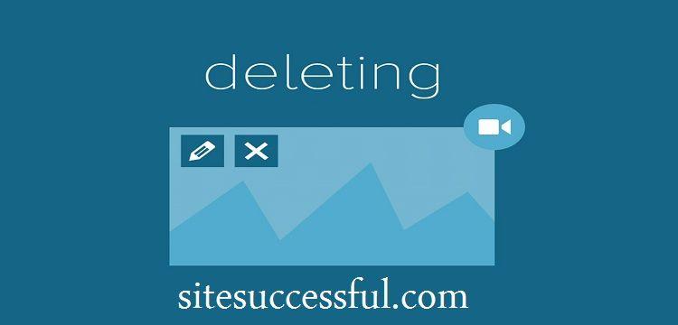 الحذف طريقة جديدة لتحسين ترتيب موقعك